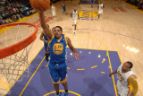 Golden State Warriors v Los Angeles Lakers: Rodney Carney and Shannon Brown Photographic Print by Noah Graham