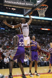 Phoenix Suns v Miami Heat: Chris Bosh Photographic Print by Mike Ehrmann