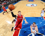 Los Angeles Clippers v Philadelphia 76ers: Blake Griffin and Spencer Hawes Photographic Print by Jesse D. Garrabrant