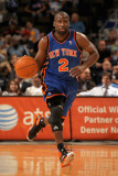 New York Knicks v Denver Nuggets: Raymond Felton Photographic Print by Doug Pensinger