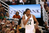 Orlando Magic v Utah Jazz: C.J. Miles Photographic Print by Melissa Majchrzak