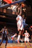 Charlotte Bobcats v New York Knicks: Ronny Turiaf and Stepehen Jackson Photographic Print by Nathaniel S. Butler