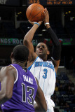 Sacramento Kings v New Orleans Hornets: Chris Paul and Tyreke Evans Photographic Print by Layne Murdoch