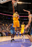 Washington Wizards v Los Angeles Lakers: Kobe Bryant Photographic Print by Andrew Bernstein
