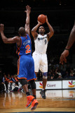 New York Knicks v Washington Wizards: Gilbert Arenas and Raymond Felton Photographic Print by Ned Dishman
