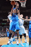 Dallas Mavericks v New Orleans Hornets: Shawn Marion, Quincy Pondexter and Jason Smith Photographic Print by Layne Murdoch