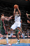 Milwaukee Bucks v Denver Nuggets: Aaron Afflalo Photographic Print by Garrett Ellwood