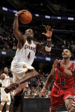 Chicago Bulls v Cleveland Cavaliers: Antawn Jamison and Carlos Boozer Photographic Print by David Liam Kyle