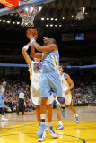 Denver Nuggets v Golden State Warriors: Shelden Williams Photographic Print by Rocky Widner