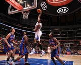 New York Knicks v Los Angeles Clippers: DeAndre Jordan Photographic Print by Noah Graham