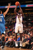 Minnesota Timberwolves v Phoenix Suns: Jason Richardson Photographic Print by Barry Gossage
