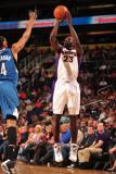 Minnesota Timberwolves v Phoenix Suns: Jason Richardson Photographic Print by Barry Gossage