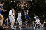 Golden State Warriors v Dallas Mavericks: Monta Ellis and Ian Mahinmi Photographic Print by Glenn James