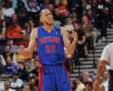 Detroit Pistons v Golden State Warriors: Tayshaun Prince Photo af Rocky Widner