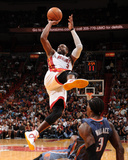 Charlotte Bobcats v Miami Heat: Dwyane Wade Reproduction photographique par Andrew Bernstein