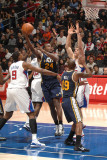 Utah Jazz v Los Angeles Clippers: Paul Millsap Photographic Print by Noah Graham