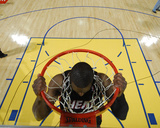 Miami Heat v Golden State Warriors: Dwayne Wade Fotografisk trykk av Rocky Widner