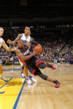 Miami Heat v Golden State Warriors: Dwayne Wade Photographic Print by Rocky Widner