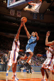 Minnesota Timberwolves v New York Knicks: Sebastian Telfair and Shawne Williams Photographic Print by Nathaniel S. Butler