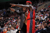 New Jersey Nets v Philadelphia 76ers: Avery Johnson and Anthony Morrow Photographic Print by Jesse D. Garrabrant