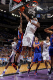 New York Knicks v Sacramento Kings: DeMarcus Cousins Photographic Print by Rocky Widner