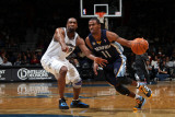 Memphis Grizzlies v Washington Wizards: Mike Conley and Gilbert Arenas Photographic Print by Ned Dishman