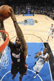 Miami Heat v Orlando Magic: LeBron James Photographic Print by Fernando Medina