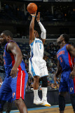 Detroit Pistons v New Orleans Hornets: Chris Paul Photographic Print by Layne Murdoch