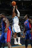 Detroit Pistons v New Orleans Hornets: Chris Paul Photographic Print by Layne Murdoch