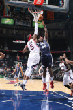 Memphis Grizzlies v Atlanta Hawks: Josh Smith and Zach Randolph Photographic Print by Scott Cunningham