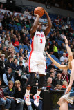 Detroit Pistons v Minnesota Timberwolves: Rodney Stuckey Photographic Print by David Sherman
