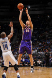 Phoenix Suns v Orlando Magic: Hedo Turkoglu and Jameer Nelson Photographic Print by Fernando Medina