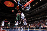 Milwaukee Bucks v Philadelphia 76ers: Corey Maggette and Elton Brand Photographic Print by Jesse D. Garrabrant