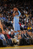 Denver Nuggets v Golden State Warriors: J.R. Smith Photographic Print by Rocky Widner