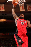 Toronto Raptors v New York Knicks: Amir Johnson Photographic Print by Ray Amati