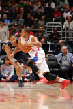 Memphis Grizzlies v Los Angeles Clippers: Eric Gordon and Xavier Henry Photographic Print by Noah Graham