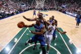 Orlando Magic v Utah Jazz: Jameer Nelson Photographic Print by Melissa Majchrzak