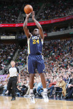 Los Angeles Clippers v Utah Jazz: Paul Millsap Photographic Print by Melissa Majchrzak
