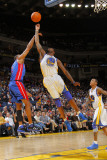 Detroit Pistons v Golden State Warriors: Dorell Wright Photographic Print by Rocky Widner