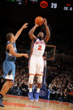 Minnesota Timberwolves v New York Knicks: Raymond Felton and Sebastian Telfair Photographic Print by Nathaniel S. Butler