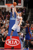New York Knicks v Los Angeles Clippers: Blake Griffin and Amar'e Stoudemire Photographic Print by Noah Graham