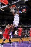 Chicago Bulls v Sacramento Kings: Samuel Dalembert Photographic Print by Rocky Widner