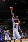 Detroit Pistons v Orlando Magic: Jason Maxiell Photographic Print by Fernando Medina
