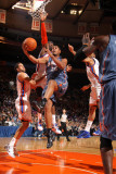 Charlotte Bobcats v New York Knicks: Boris Diaw and Amare Stoudemire Photographic Print by Nathaniel S. Butler
