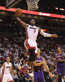 Phoenix Suns v Miami Heat: Dwyane Wade Photographic Print by Mike Ehrmann