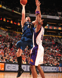 Minnesota Timberwolves v Phoenix Suns: Kevin Love and Channing Frye Photographic Print by Barry Gossage