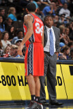 New Jersey Nets v Denver Nuggets: Avery Johnson and Devin Harris Photographic Print by Garrett Ellwood