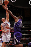 Sacramento Kings v Los Angeles Clippers: Blake Griffin and DeMarcus Cousins Photographic Print by Noah Graham