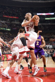 Los Angeles Lakers v Chicago Bulls: Carlos Boozer Photographic Print by Andrew Bernstein
