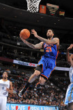 New York Knicks v Denver Nuggets: Wilson Chandler Photographic Print by Garrett Ellwood
